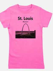 St Louis Gateway Arch Girl's Tee