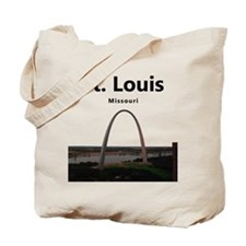 St Louis Gateway Arch Tote Bag