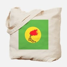 Zaire flag Tote Bag