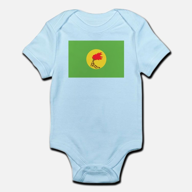 Zaire flag Infant Bodysuit