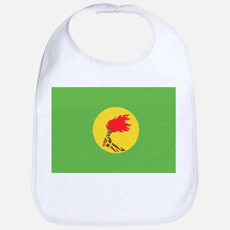 Zaire flag Bib