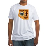 White Pine Sheriff Fitted T-Shirt