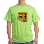 White Pine Sheriff Green T-Shirt