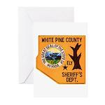White Pine Sheriff Greeting Cards (Pk of 10)