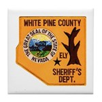 White Pine Sheriff Tile Coaster
