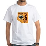 White Pine Sheriff White T-Shirt