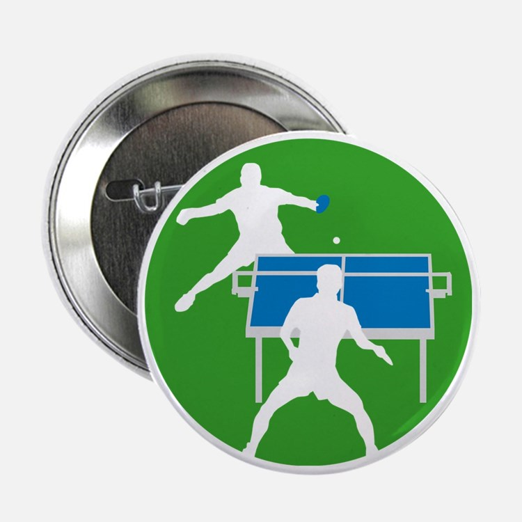 "male table tennis players 2.25"" Button"