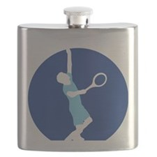 male tennis player Flask