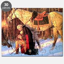 Mt. Vernon Painting of George Washington Puzzle