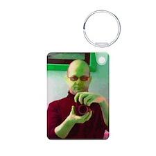 Roberto - Self Portrait Aluminum Photo Keychain