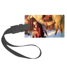 Mt. Vernon Painting of George Wa Luggage Tag