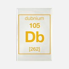dubnium Rectangle Magnet