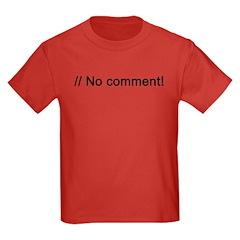 No Comment PHP T