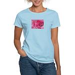Women's Pink Rose T-Shirt