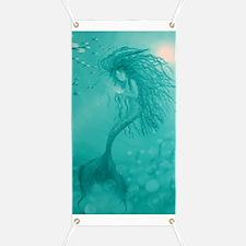 aqua mermaid area rug Banner