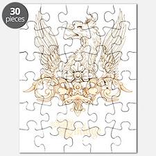 Vintage Griffin Heraldry Crest Puzzle