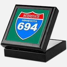 Interstate 694<BR> Keepsake Box