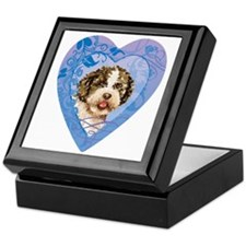 lagotto-heart Keepsake Box