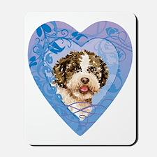 lagotto-heart Mousepad