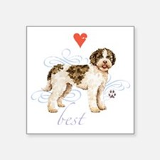 "lagotto T1-K Square Sticker 3"" x 3"""