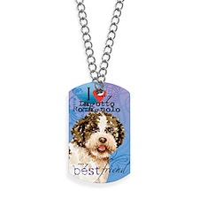 lagotto-card Dog Tags