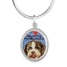 lagotto-oval Silver Oval Necklace