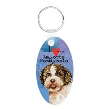 lagotto-oval Keychains