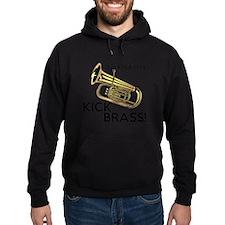 Tuba Players Kick Brass Hoodie