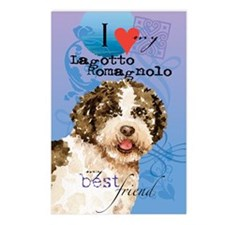 lagotto-kindle Postcards (Package of 8)