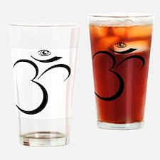 Om Eye Drinking Glass
