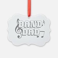 Band Dad Ornament