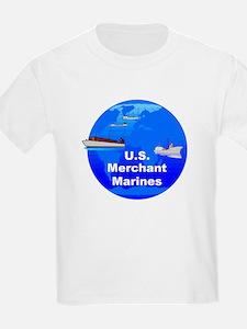 Merchant Marines Kids T-Shirt