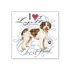 "lagotto T1 Square Sticker 3"" x 3"""
