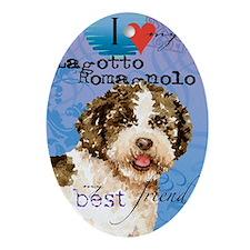 lagotto-slider1 Oval Ornament