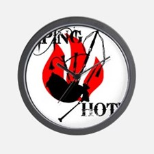 Piping Hot! Wall Clock