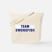 Team SWORDFISH Tote Bag