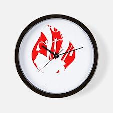 Piping Hot! Wall Clock