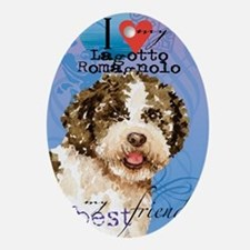 lagotto-journal Oval Ornament