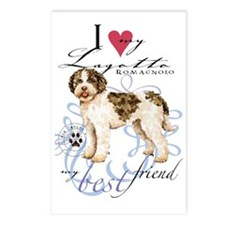 lagotto-key2 Postcards (Package of 8)
