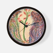Pastel Harmony Wall Clock