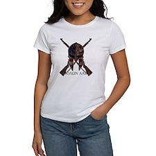 Molon Labe Crossed Guns Tee