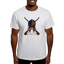 Molon Labe Crossed Guns T-Shirt