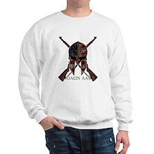Molon Labe Crossed Guns Sweatshirt