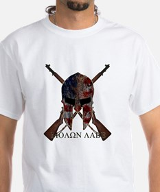 Molon Labe Crossed Guns Shirt