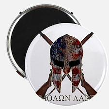 Molon Labe Crossed Guns Magnet