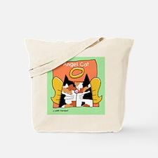 Calico Cat Angel Tote Bag