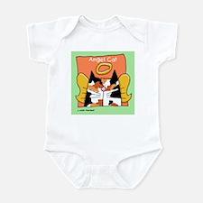 Calico Cat Angel Infant Bodysuit