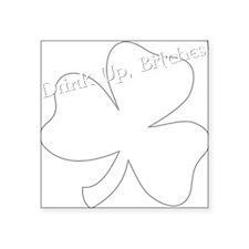 """Jenny Os Square Sticker 3"""" x 3"""""""