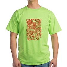 Dragon Meeting Red T-Shirt