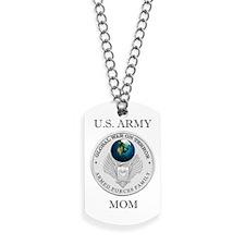Army Mom Christmas Dog Tags